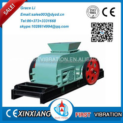 2015 hot production of double roller crusher for sale with perfect performance