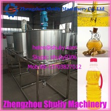 Small scale set of equipment for oil refining