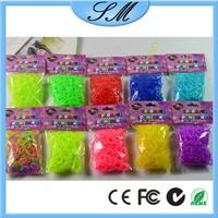 clear color rainbow bands loom cheap multi colors rainbow refill band