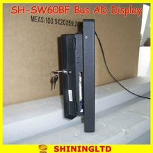 SH-SW1560BF 32 inch flip down open lcd monitor for taxi advertisement
