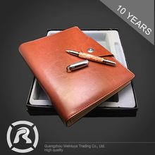 Customized Oem Specialized Produce Custom Recycled Kraft Notebook In Bulk