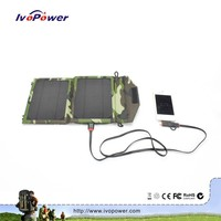 Ultra-small emergency foldable solar charger universal solar power bank for laptop