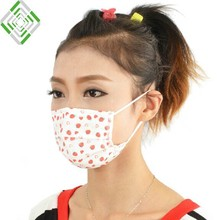 2014 fashion face mask 3 ply customized designs printed color