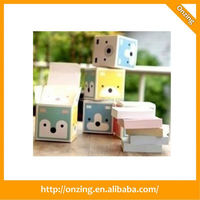 Onzing good quality cube place card holder