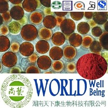 Hot sale Haematococcus pluvialis extract/Astaxanthin/Cosmetic material plant extract