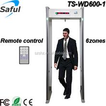 Door Frame Metal Detector TS-WD600-1 walk through metal detector