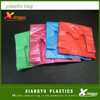 Cheap colored plastic t shirt shopping bag wholesale