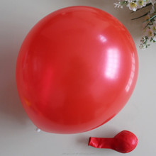 "helium latex balloon 10"" 1.8 gram red color"