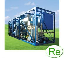Mobile small-sized crude oil and gas condensate refinery