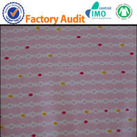 GOTS organic cotton knitted fabric for baby cloth wholesale