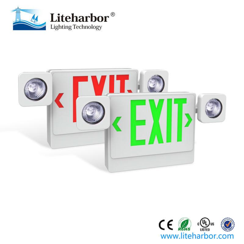 light with battery backup buy incandescent emergency light exit. Black Bedroom Furniture Sets. Home Design Ideas