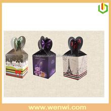 Attractive design beautiful small cake paper box