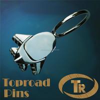 2015 New custom metal keychain with chain top sale