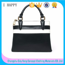 Factory supply vintage style top leather women office bags wholesale