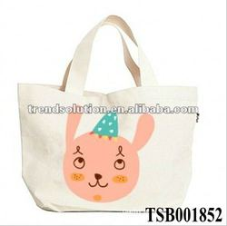 hot sale fashion promotional canvas craft tote bags