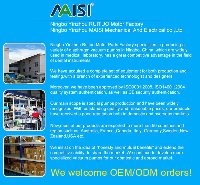 220v AC motor High pressure air compressor pump manufacturer