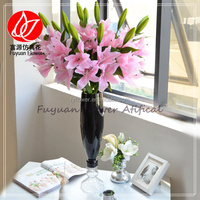 150431 flower direct from china manufacturer artificial baby pink flower lily