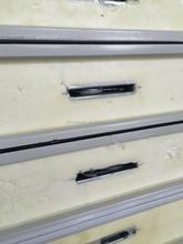 150mm cold room polyurethane insulation panel / composite panel