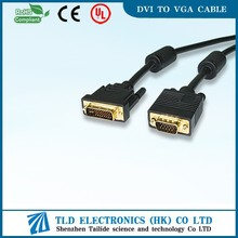 6FT DVI TO VGA cable for connecting PC computer desktop to moniter