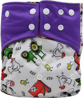 Ohbabyka Pattern PUL Pocket Design Baby Diaper ,Reusable and Washable Baby Diaper
