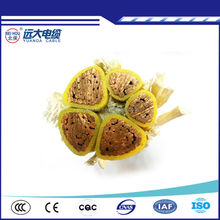 Low voltage XLPE Insulation copper core cable with 16mm