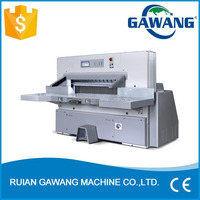 Program Control Double Hydraulic Double Guide Paper Cutting Guillotine