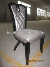 Solid wood 2015 hot sale dining room chair and table set