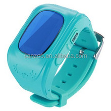 Designer promotional wrist watch gps tracking device for kids