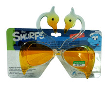 white and yellow swan shape party glasses/ festival accessories/ kid toy