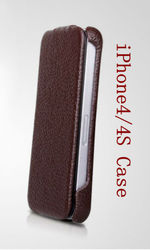 cell phone covers for iphone4s -Pink/Brown/Black/Red, factory price with high quality