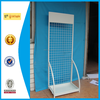 white color floor standing metal display shop fitting