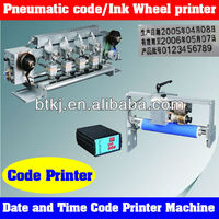 Portable Hot Sale Code and Date Batch Printing Machine for Sale,Semi Automatic Batch Number Coding Machine with Cheap Price