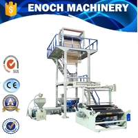 Double-layer Rotary Die Plastic Film Blowing Machine/extruder