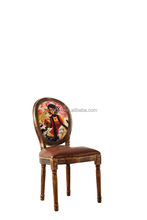 2015 wood chair Wood Louis Ghost Chair Antique Wooden Dining Chair