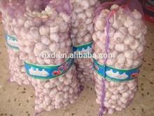 Chinese fresh vegetables 2015 new crop white garlic red garlics