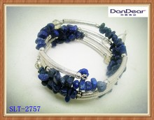 Alloy And Stone And Bead Bangle Stand