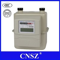 Intelligent residential IC card gas meter with prepaid function