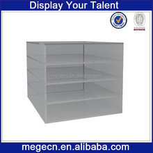 shopping mall acrylic t shirt display counter