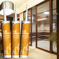 non-toxic, food grade wood color silicone adhesive for kitchen cabinet