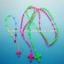 Eco-friendly Newest promotional new soft silicone magnetic necklace