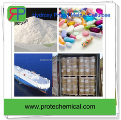 Water retention agent Hydroxypropyl Methyl Cellulose raw material in phamaceutical gels making