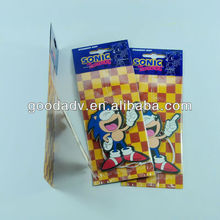Room Hanging car air freshener/scented paper with colorful logo