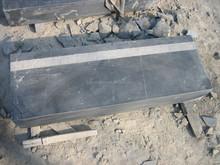 honed bluestone steps