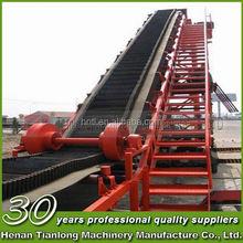 Organic Flour Belt Conveyor System with Rubber/PVC/PU belt material