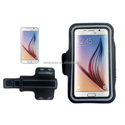 New products sport PU armband for S6 mobile phone case armband for samsung galaxy s6