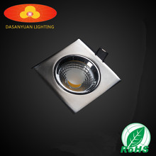 Dimmable Recessed led ceiling light 3w/5w/7w/9w cob