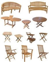 wholesale outdoor wooden leisure garden furniture table set germany,bamboo garden furniture