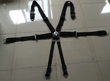 6-Point cam-lock Safety belt racing harness with SFI prove