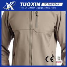 "men""s steens mountain softshell fleece jacket fabric / bonded fleece softshell fabric"
