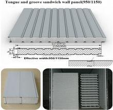 Polystyrene foam wall Sandwich board/polystyrene foam wall sandwich panel for prefab home
